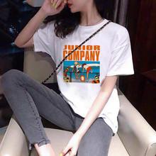 一件代發女裝韓版寬松大碼短袖T恤女ins潮流純棉學生休閑半袖上衣
