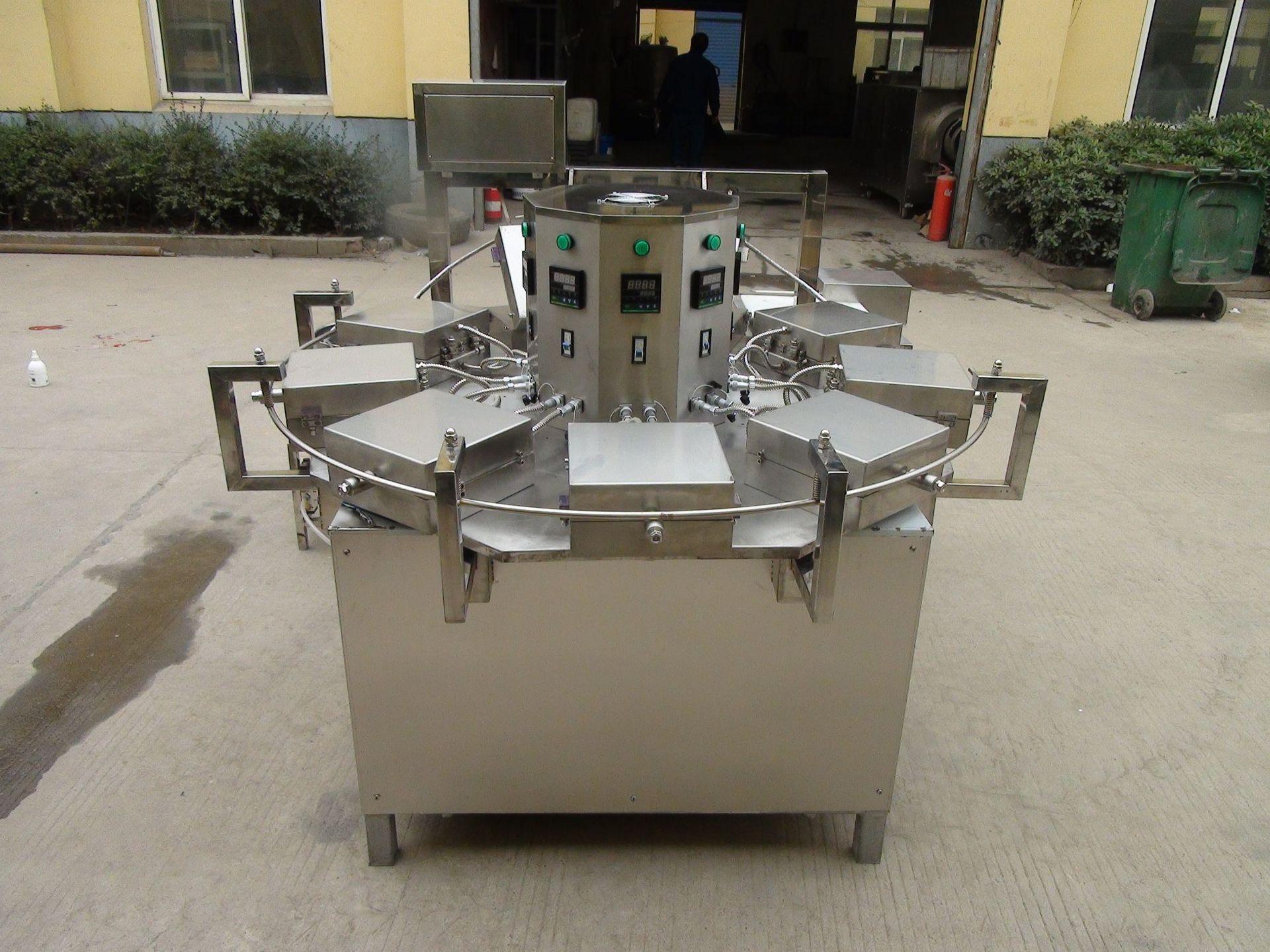 自动仿手工蛋卷机  杂粮蛋卷机 节能大型商用蛋卷机