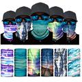 勋慧图案系列跨境亚马逊秋冬骑行面罩运动滑雪保暖魔术头巾围脖套