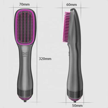 Hair Straightener Brush1200W Ionic Straightening Brush wit