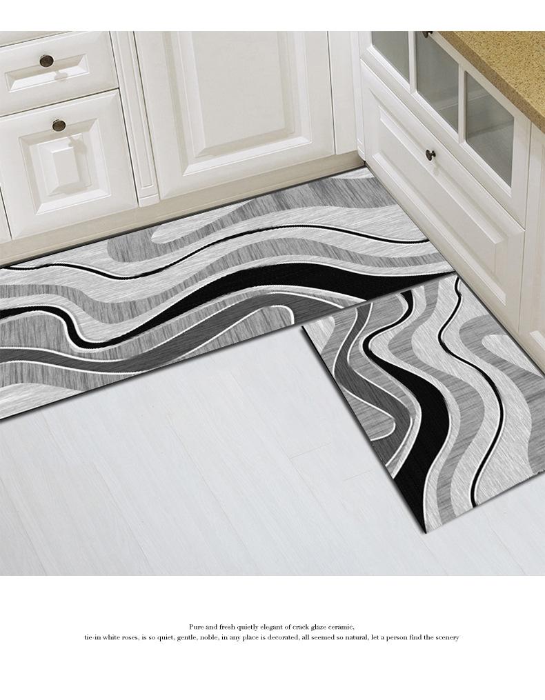 北欧地毯,地毯地垫,厨房地垫,浴室地垫,入户门脚垫,浴室地垫,长条形脚垫