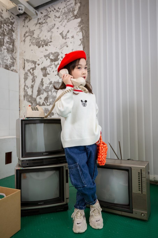现货Mig米格夏季中小童女孩服装 品牌童装折扣走份批发实体店货源
