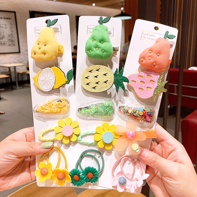 Children's hair accessories Korean girl hairpin princess cute super fairy bow bb clip baby hairpin bangs broken hairpin NHSA219393