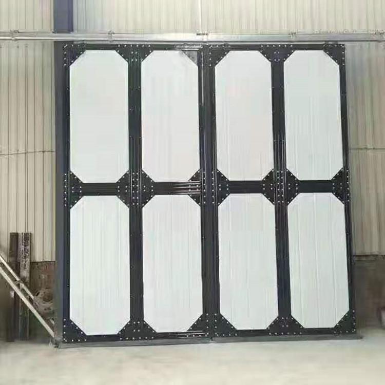 工厂供应保温平开门  折叠门  工业门