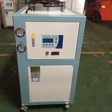 3匹風冷式工業冷水機注塑食品制冷機組低溫冷凍機組電鍍冰水機