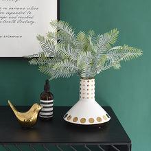 北欧风格几何陶瓷花瓶家居客厅创意装饰品摆件卧室床头柜简约现代