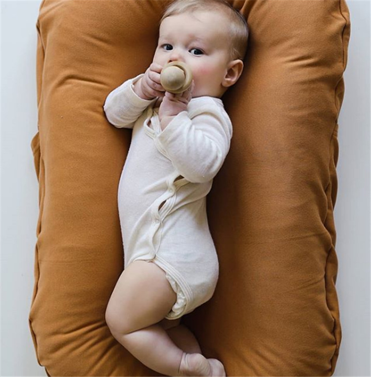cotton baby bed