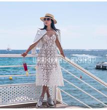 夏季帽子女手工编织麦秆帽子大沿平顶遮阳帽欧美网红太阳帽草帽女
