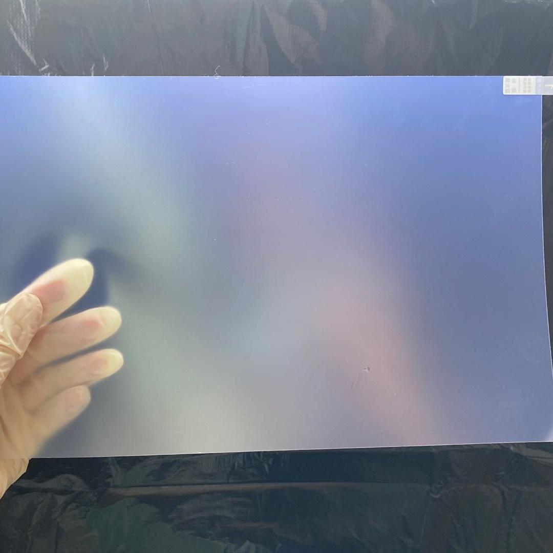 跨境市场热销笔记本屏幕磨砂防蓝光膜 13.3防眩防反光硅胶电脑膜