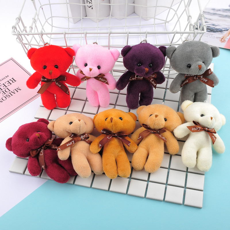 Plush Toy Plush Pendant Bear Doll Accessories Activity Gifts