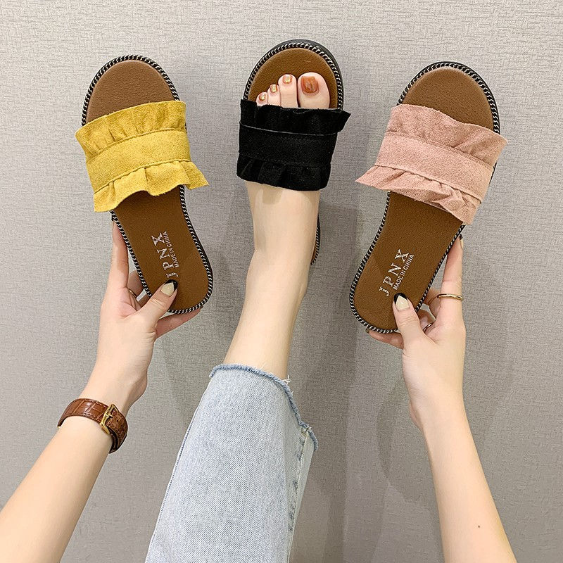 Spring and summer new women's shoes slip...