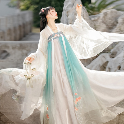 Hanfu Chinese ancient costume for adults