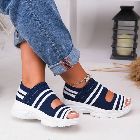 Summer women's shoes 2020 new casual fla...