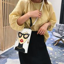 小包包新款女包2021韩版时尚卡通手机包潮流个性单肩手提斜跨包