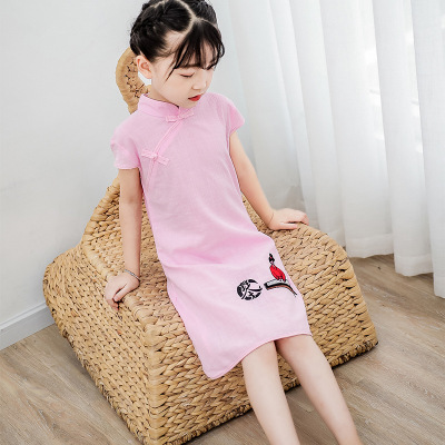 Children Chinese Dress cheongsam Hanfu National Children Chinese Dress ancient girl Chinese Dress cheongsam dress Princess