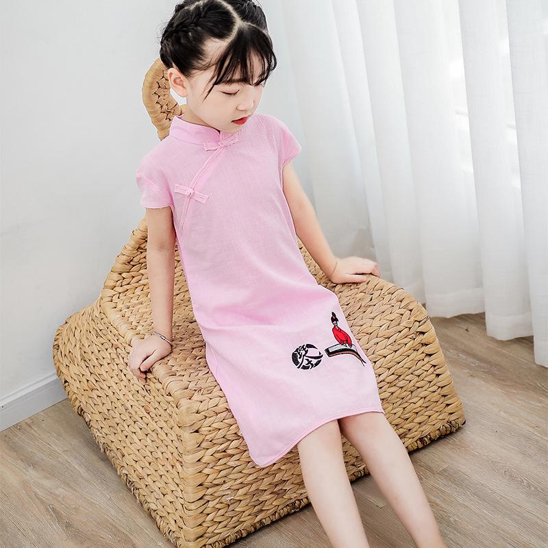 Children Chinese Dress cheongsam Hanfu National Children Chinese Dress ancient girl Chinese Dress cheongsam dress Princess