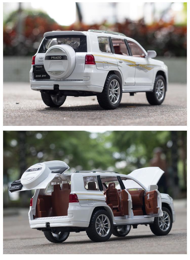 Xe mô hình tĩnh Toyota land Cruiser  tỉ lệ 1:24 - ảnh 15