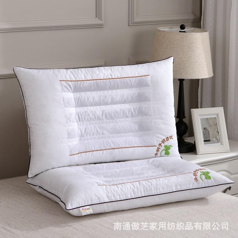 决明子枕芯薰衣草荞麦枕头保健花草护颈成人单人枕头床上用品批发