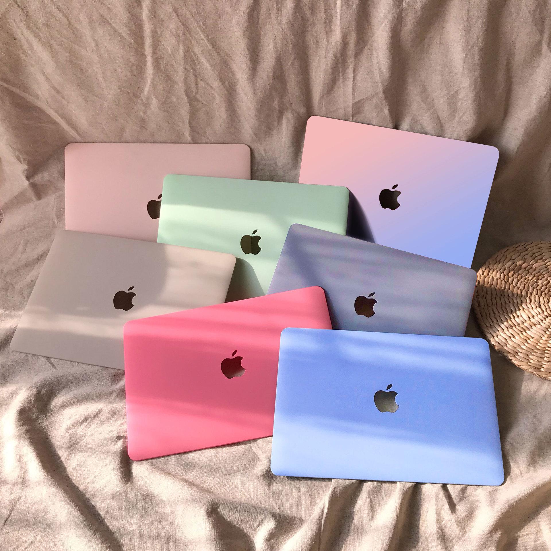 适用Macbook苹果笔记本保护壳Air13奶油壳苹果笔记本电脑保护套壳