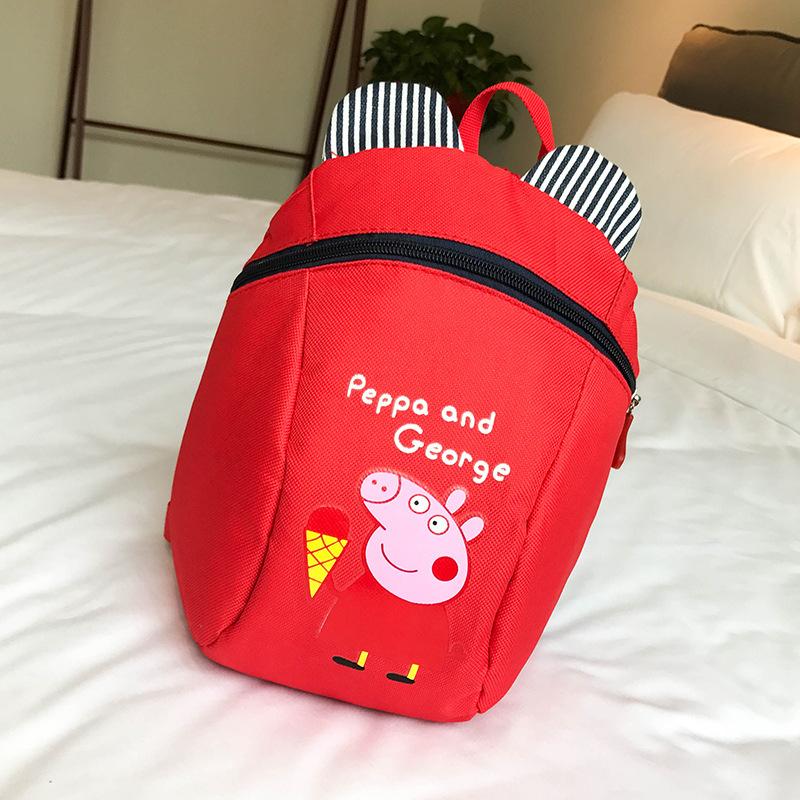 新款学生包小熊双背防走失小学生出门购物背包随身小包旅行包儿童
