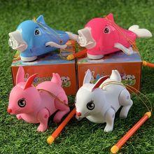 新年元宵节儿童电动音乐发光跳跳兔灯笼音乐萌兔可爱旋彩海豚灯笼