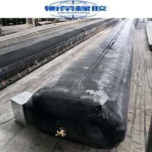 橡胶充气芯模气囊圆形桥梁充气芯模规格定制混凝土空心板充气芯模