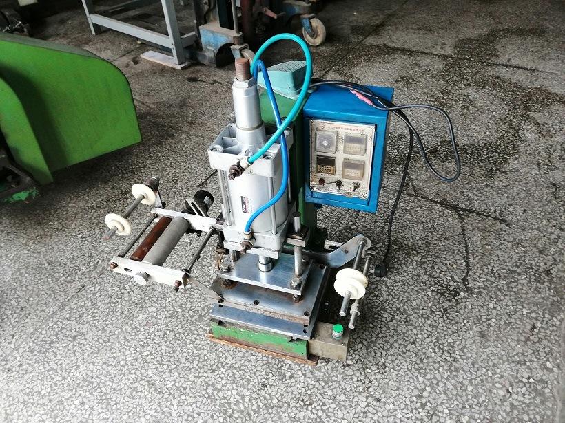 9成新二手气动烫金机 手动 脚动操作 自动收料装置 可现场试机