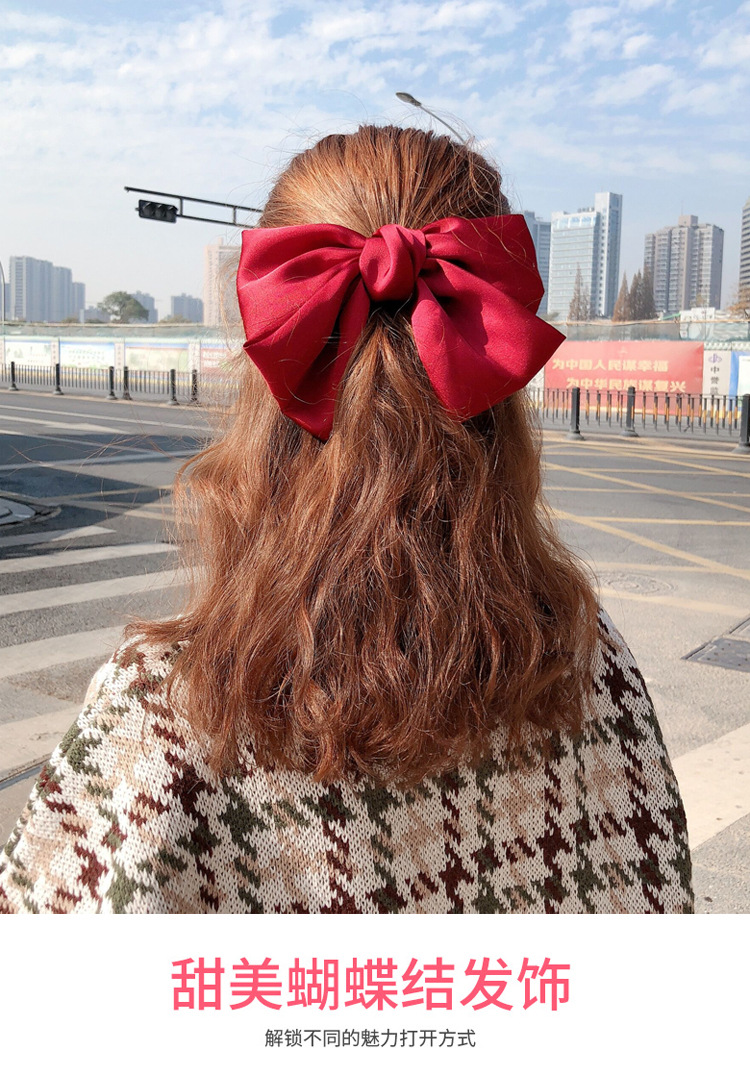 fashion new simple korean  bow hair rope or clip  NHCQ262627
