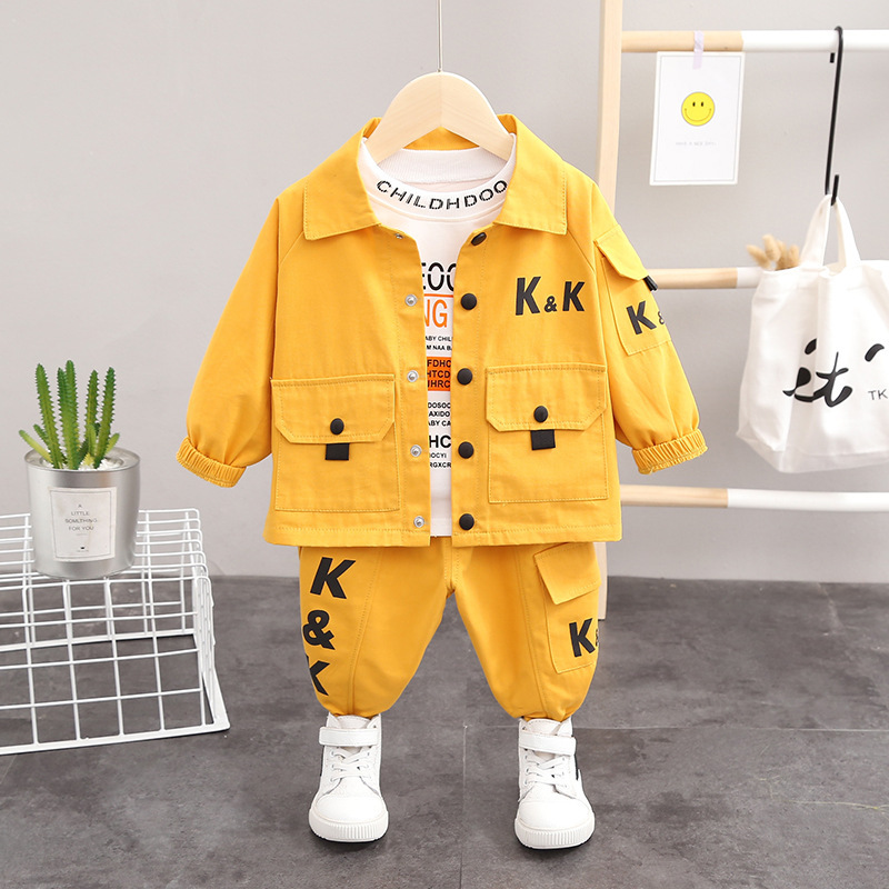 Boy's suit 2020 spring and autumn new ch...