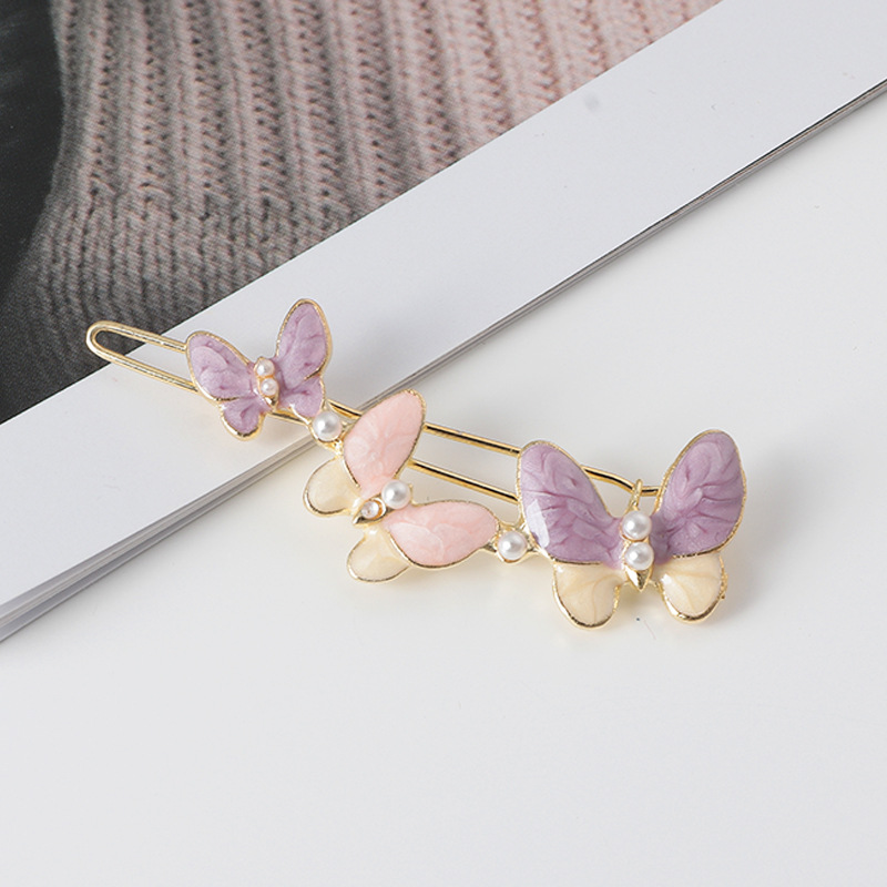 korean fashion new  butterfly hair  clip  NHNU243384