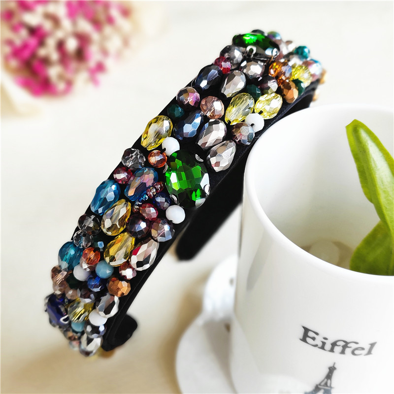Korean hair accessories adult wild pearl headband fashion headband ladies hairpin jewelry suppliers china NHVA202741