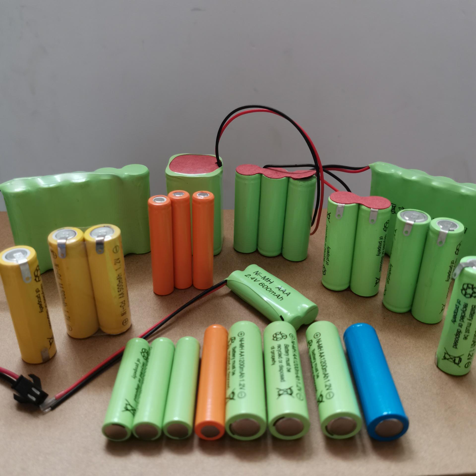 厂供 镍镉镍氢5号7号发泡镍充电电池AA AAA玩具灯具剃须刀电推剪