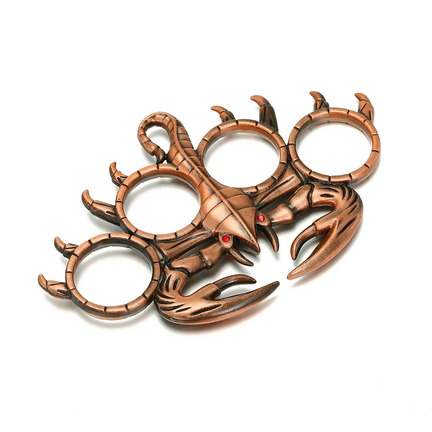 Copper Vintage Joint Ring Game Ring Bronze Scorpion Hand Expanded Metal Bracelet Wholesale NHGO204356