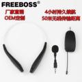 FREEBOSS 无线头戴麦克风小扩音器麦克风舞台演出挂颈录音麦克风