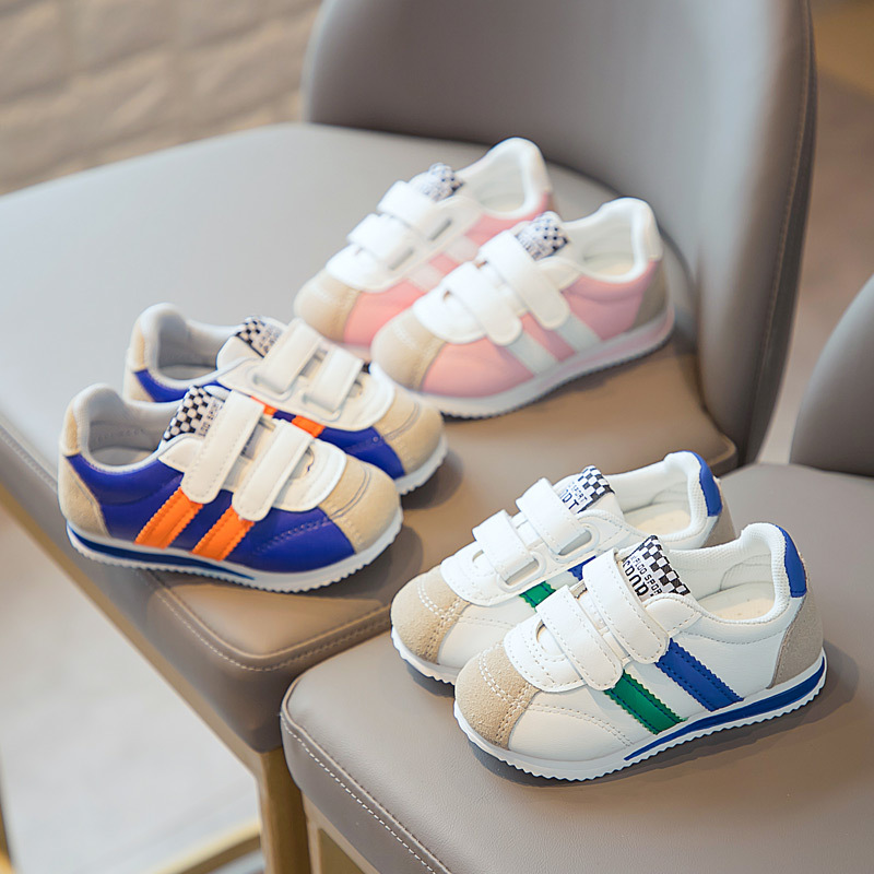 Boys and girls baby toddler shoes soft-s...