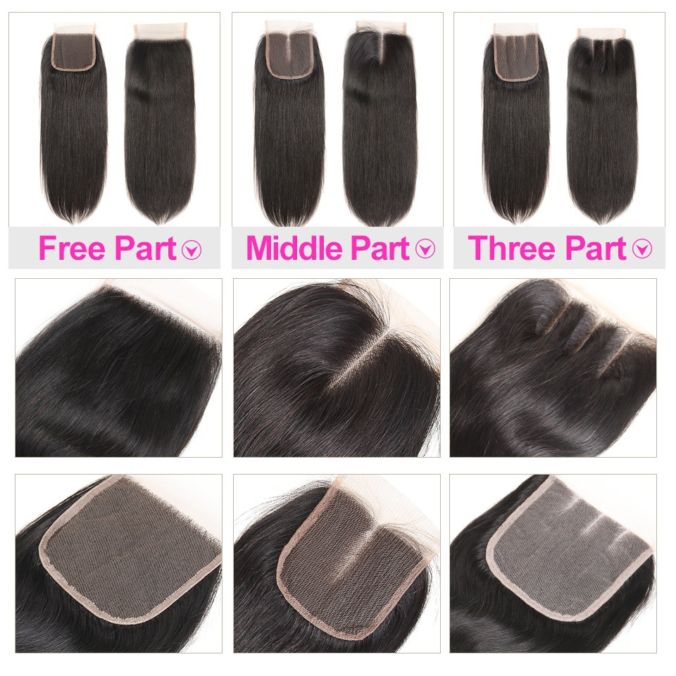 Brazilian Straight Human Hair Lace Front...