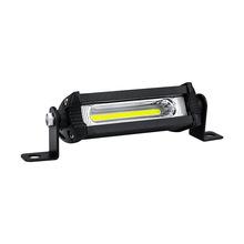 汽車LED工作燈 迷你小單排 COB 9W 改裝日行燈 摩托車輔助燈