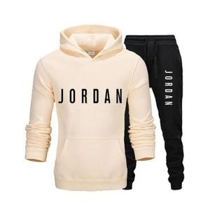 European and American men's fashion sportswear casual sportswear sweater sweatshirt sportswear pants autumn and winter men's suit