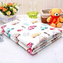 厂家卡通防水尿垫大码可洗婴儿隔尿床单纯棉透气姨妈床垫护理垫