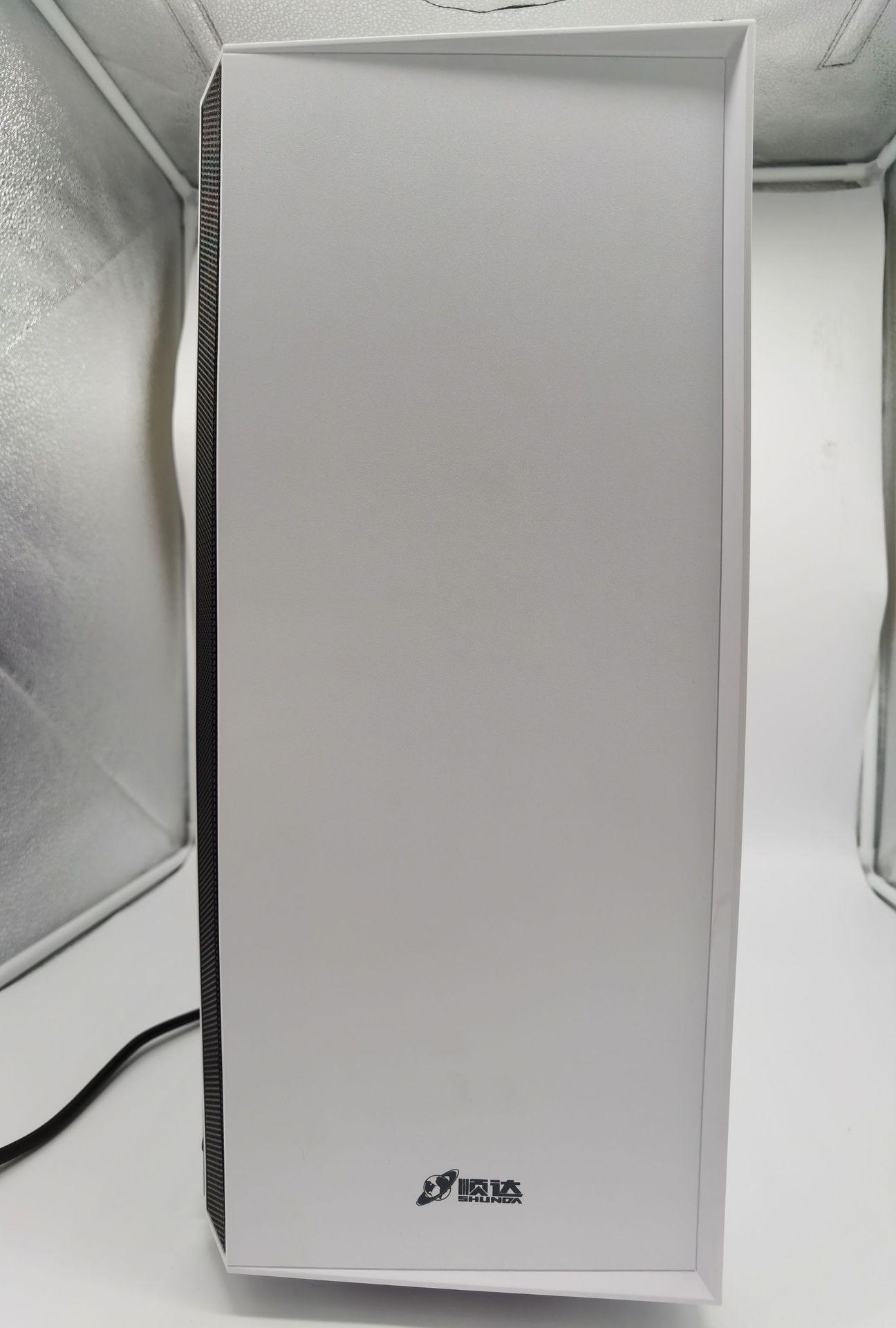 超神白机箱商英(白色) 便携式商务电脑小机箱