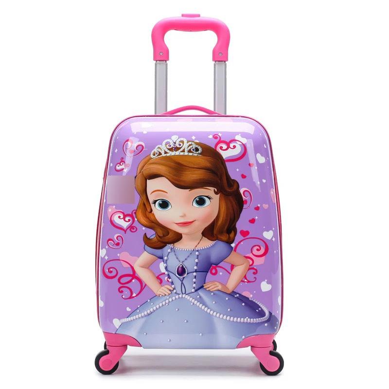 19寸万向轮儿童行李箱卡通动漫男女拉杆箱礼品定制logo小孩旅行箱