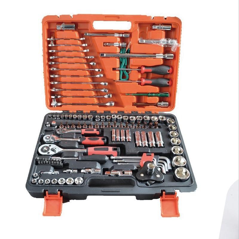 汽修五金工具套装汽车套筒快速棘轮套筒扳手随车修理组套汽保工具