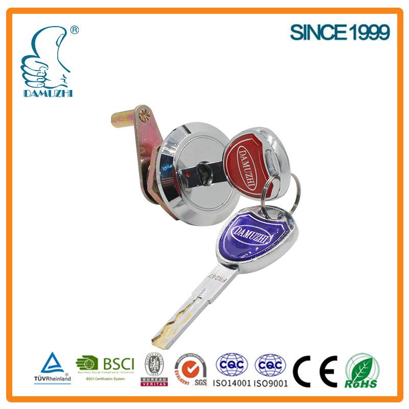 厂家直销大拇指2532(203C-48)一字锁,防盗锁,保险柜锁,铁皮柜锁