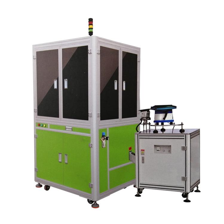 外观全检影像光学玻璃盘筛选机外观 缺陷 尺寸筛选机智能检测设备