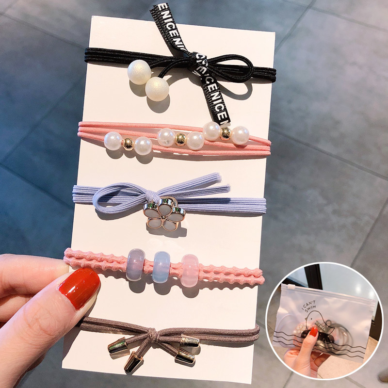Korean new simple and sweet cheap scrunchies wholesale NHNA207454