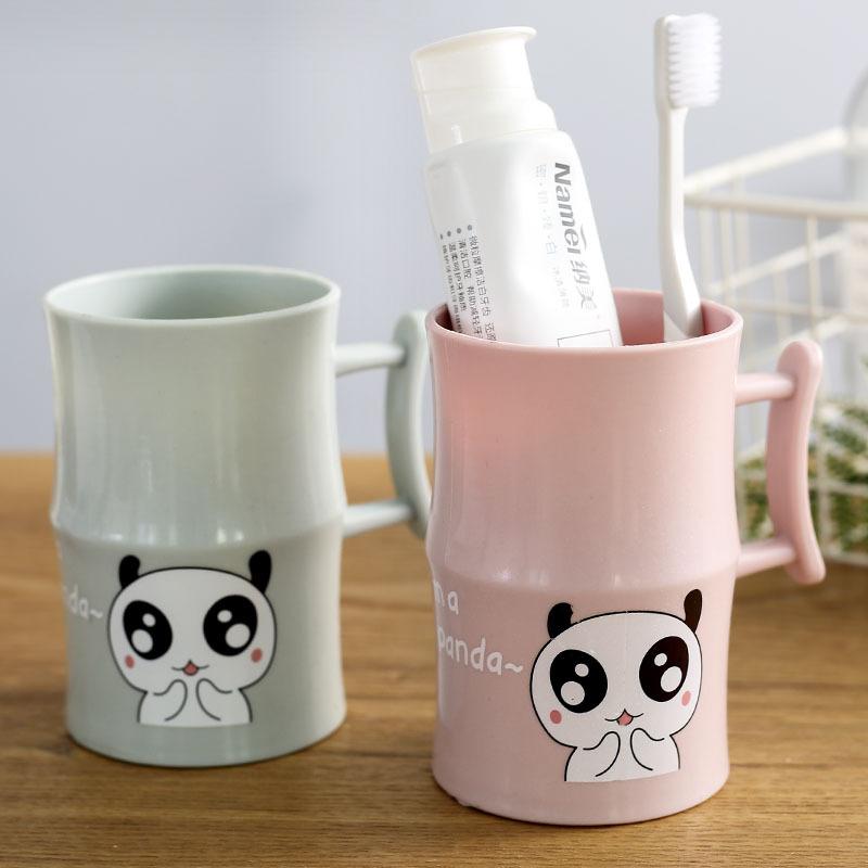 情侣创意刷牙杯牙缸杯简约竹节塑料韩国欧式漱口杯家用牙刷杯口杯