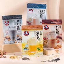 高老头奇亚籽燕麦片350g即食代早餐懒人代餐食品冲饮谷物厂家直销
