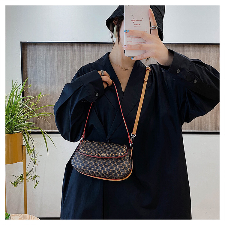 summer new trendy wild style simple one-shoulder messenger fashion women's small square bag NHJZ242759