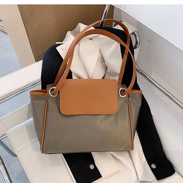Simple ladies largecapacity bags fashion oneshoulder bag messenger bag NHLH260199