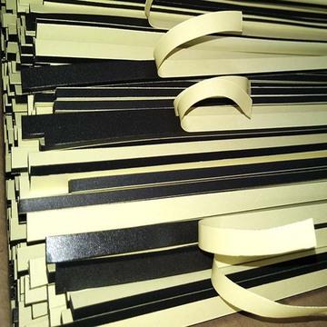 厂家现货供应eva胶条防水泡棉密封条黑色白色eva单面加粘胶带定做